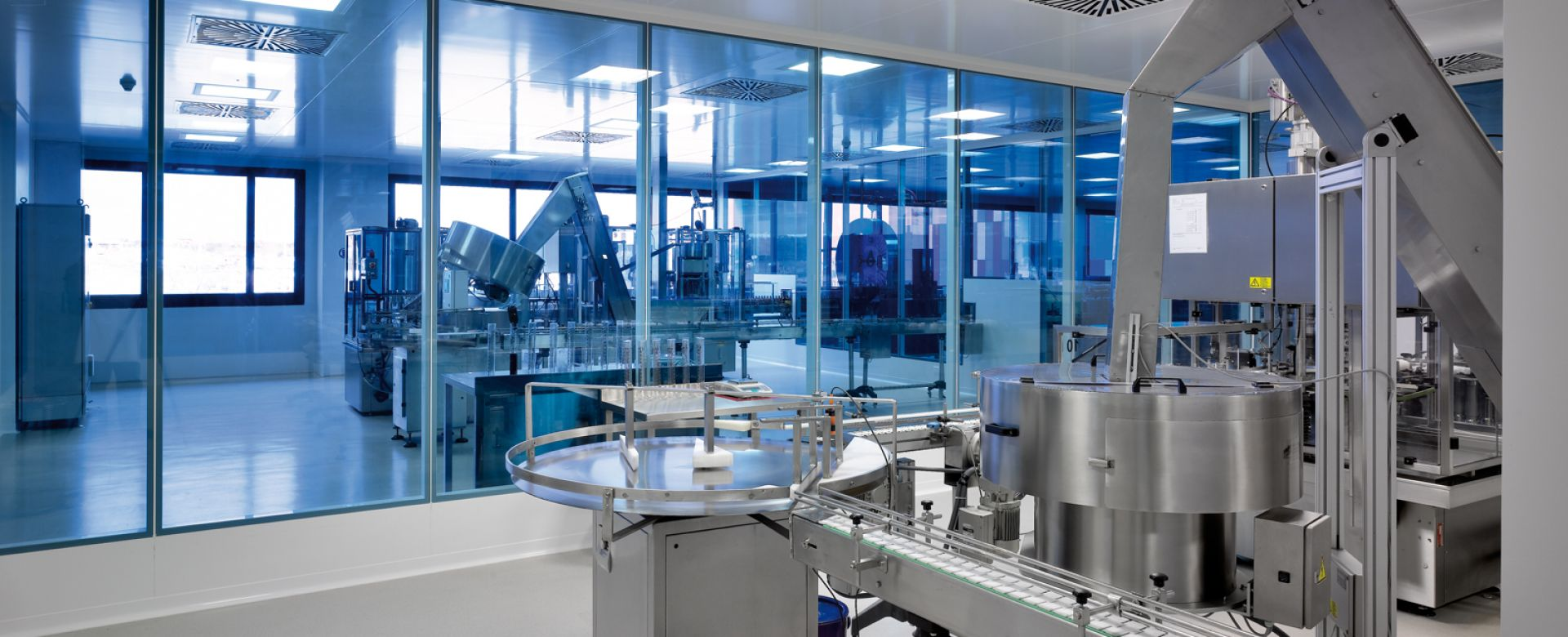 Clestra Cleanroom : Cloison pour salle blanche
